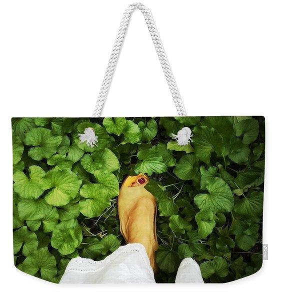 Feet Around The World #3 Weekender Tote Bag
