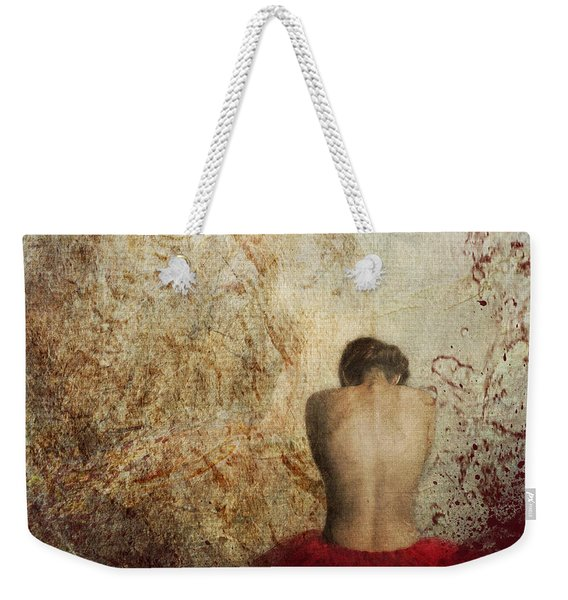Female Back Weekender Tote Bag
