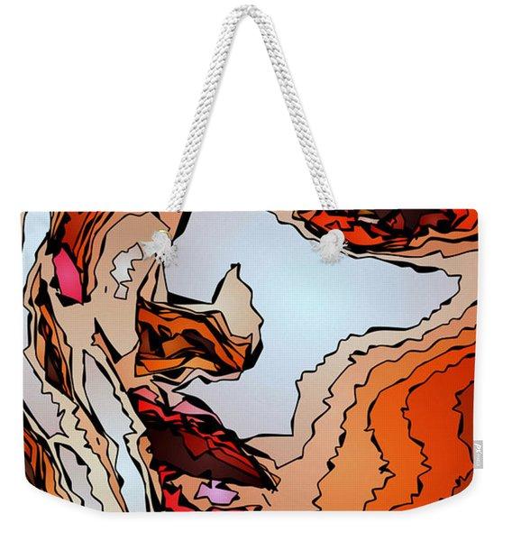 Female Expressions Viii Weekender Tote Bag