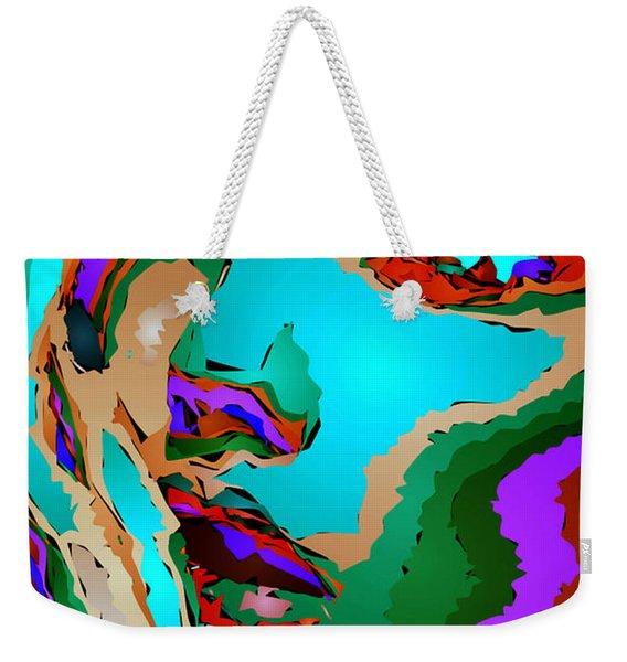 Female Tribute V Weekender Tote Bag