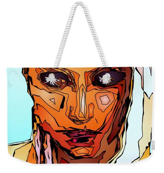 Female Tribute Vii Weekender Tote Bag