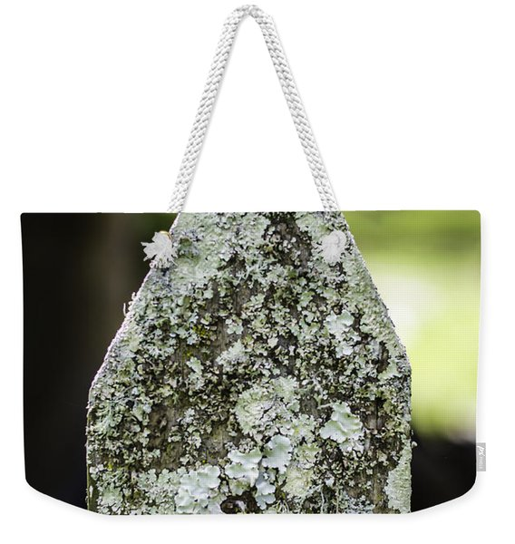 Fence With Moss Weekender Tote Bag