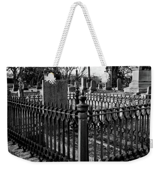 Fenced Grave Weekender Tote Bag