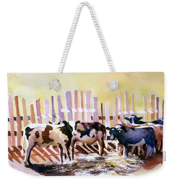 Fenced In Weekender Tote Bag