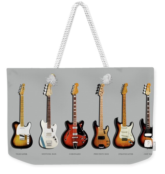 Fender Guitar Collection Weekender Tote Bag
