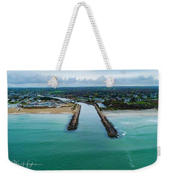 Fenway Beach Breakwater Weekender Tote Bag