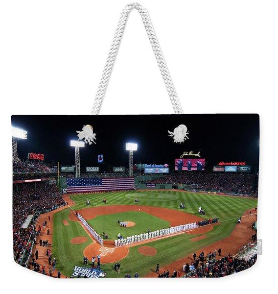 Fenway Park World Series 2013 Weekender Tote Bag
