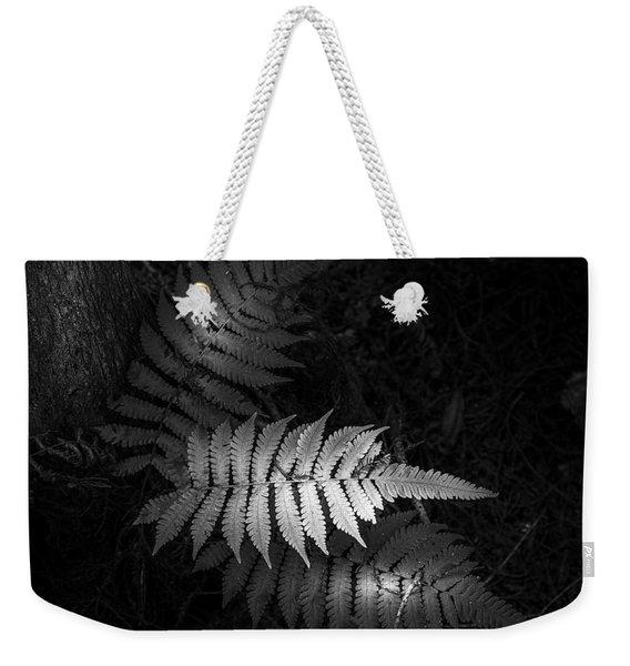 Fern Life B/w Weekender Tote Bag