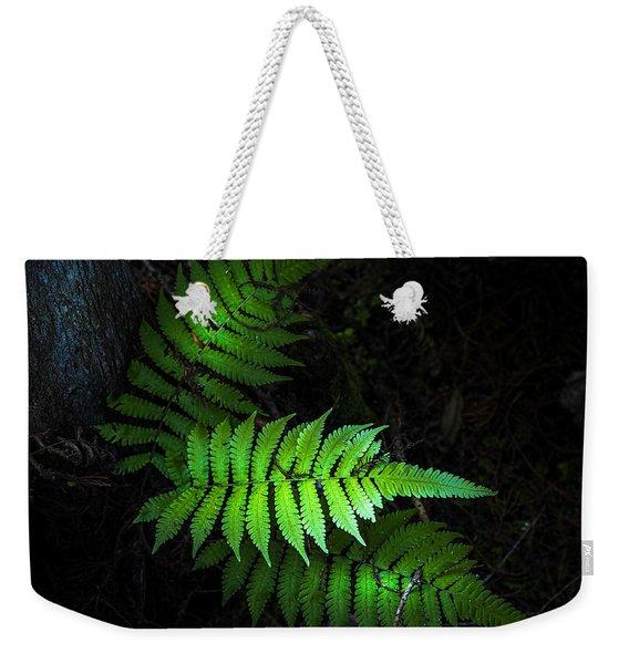 Fern Life Weekender Tote Bag