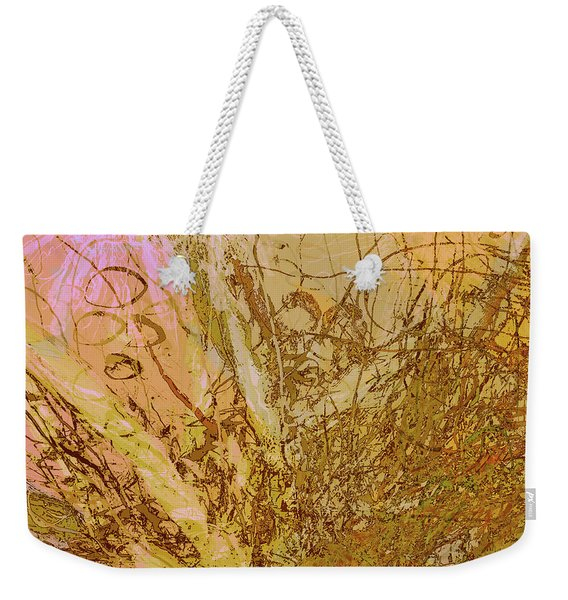 Fern Series 32 Bubbles Rise Weekender Tote Bag