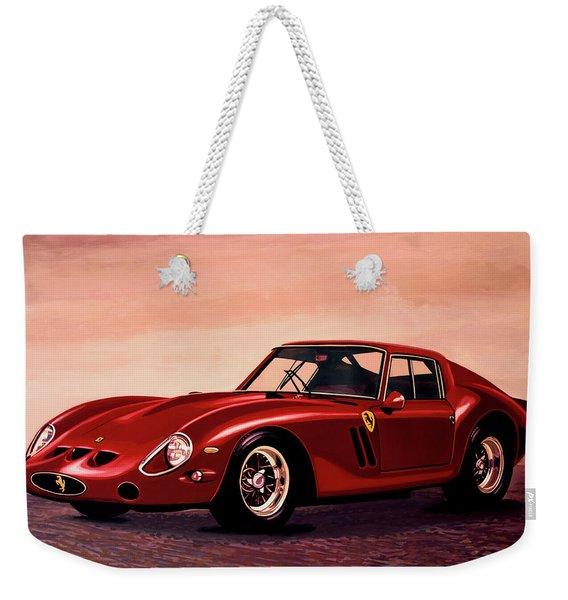 Ferrari 250 Gto 1962 Painting Weekender Tote Bag
