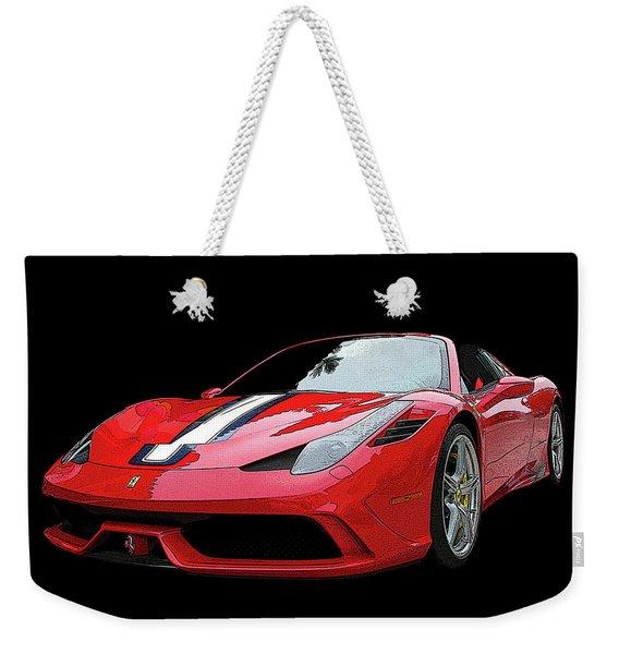 Ferrari 458 Speciale Aperta Weekender Tote Bag