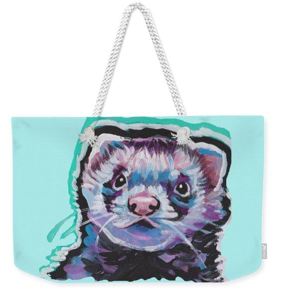Ferret Fun Weekender Tote Bag