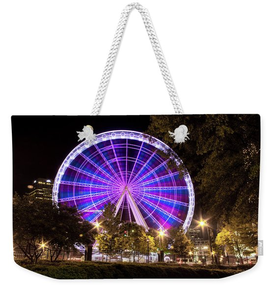 Ferris Wheel At Centennial Park 1 Weekender Tote Bag