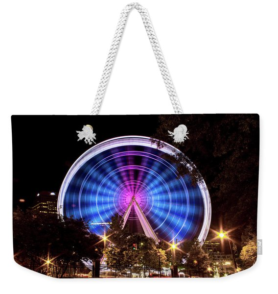 Ferris Wheel At Centennial Park 2 Weekender Tote Bag