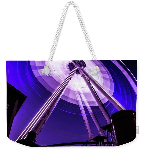 Ferris Wheel At Centennial Park 3 Weekender Tote Bag