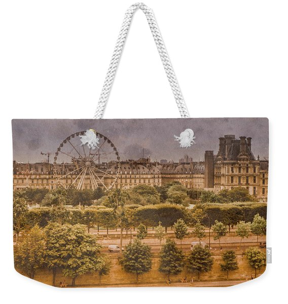 Paris, France - Ferris Wheel Weekender Tote Bag