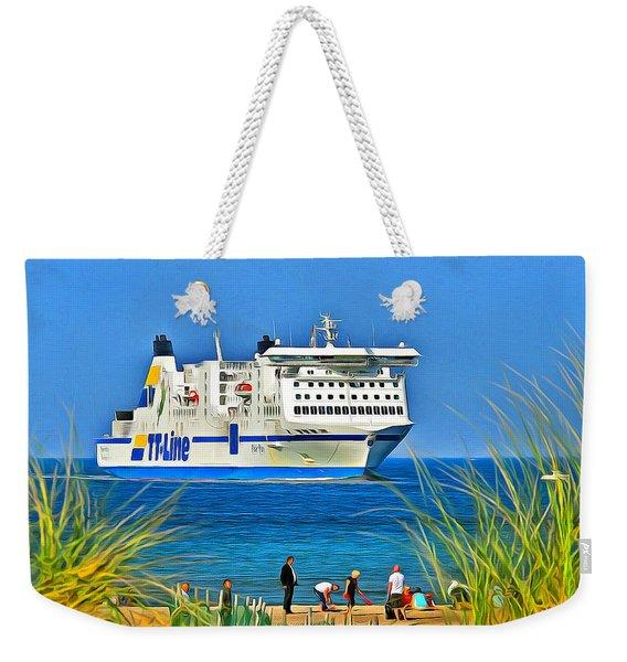 Ferry - Baltic Sea Weekender Tote Bag