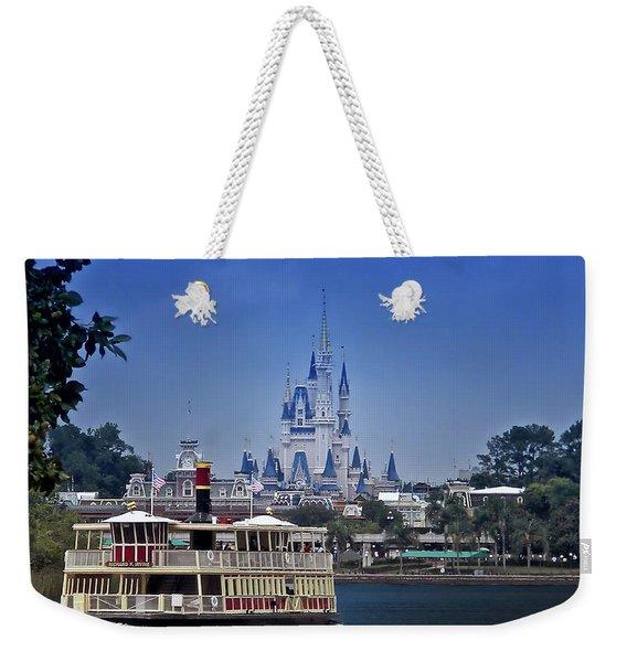 Ferry Boat Magic Kingdom Walt Disney World Mp Weekender Tote Bag