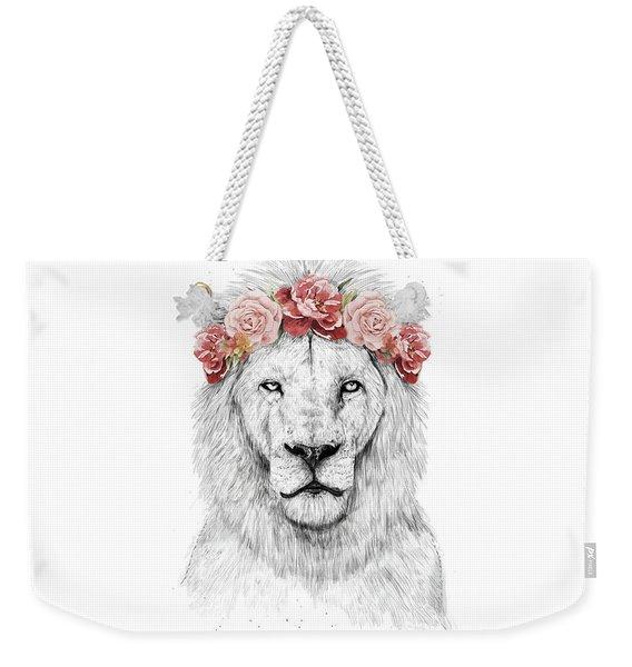Festival Lion Weekender Tote Bag