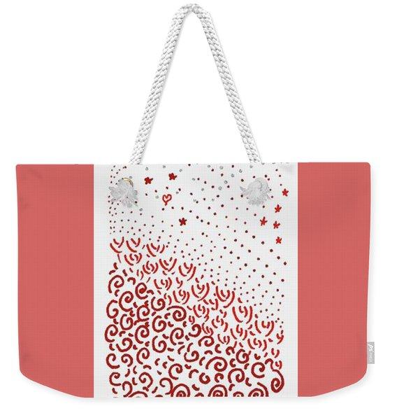 Festival Of Red And Orange Weekender Tote Bag
