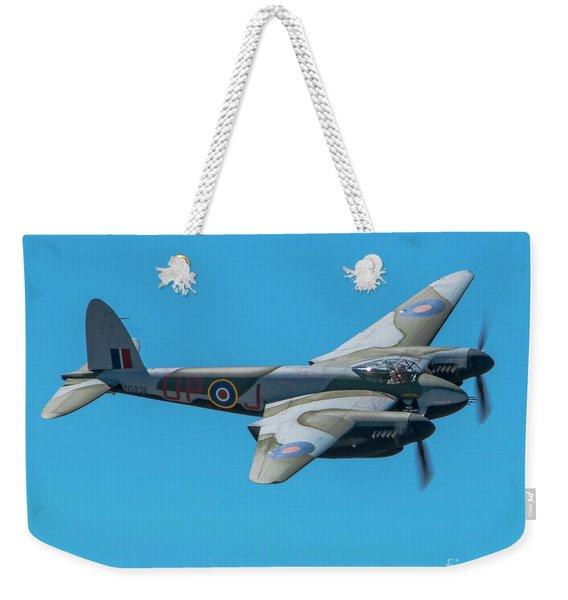 Fhcam Mossie In The August Blue Skies Weekender Tote Bag