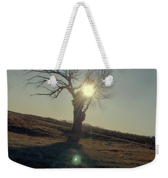Field And Tree Weekender Tote Bag