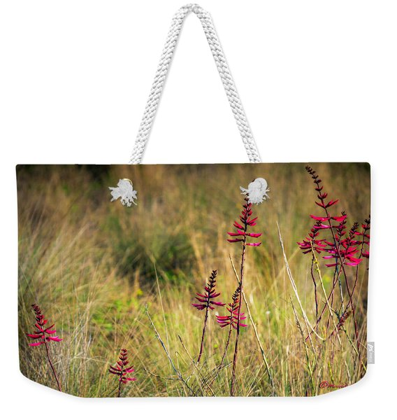 Field Flowers Weekender Tote Bag