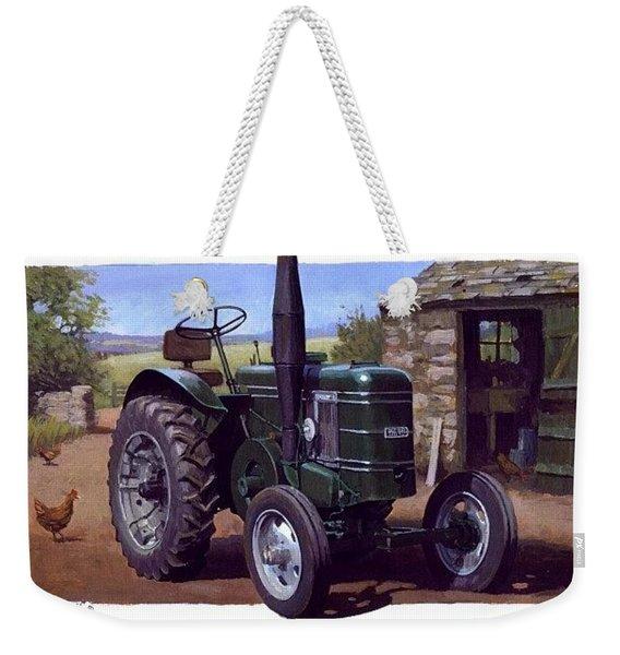Field Marshall Tractor Weekender Tote Bag