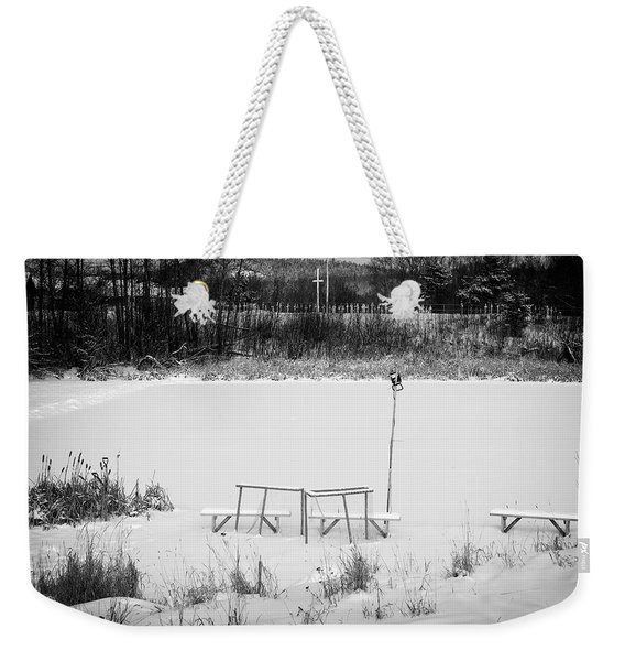 Weekender Tote Bag featuring the photograph Field Of Dreams  by Doug Gibbons