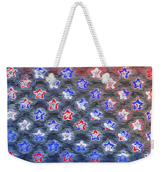Field Of Stars - The 50 States Weekender Tote Bag