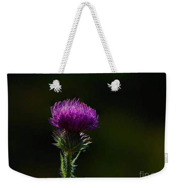 Field Thistle Weekender Tote Bag