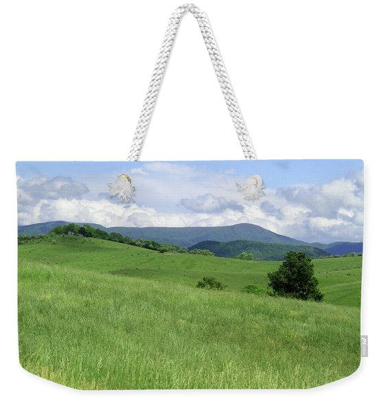 Fields And Hills  Weekender Tote Bag