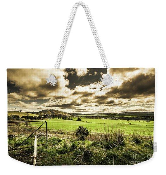 Fields Of Dynamic Range Weekender Tote Bag