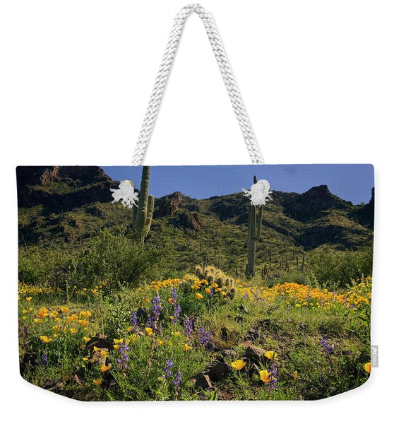Fields Of Glory Weekender Tote Bag