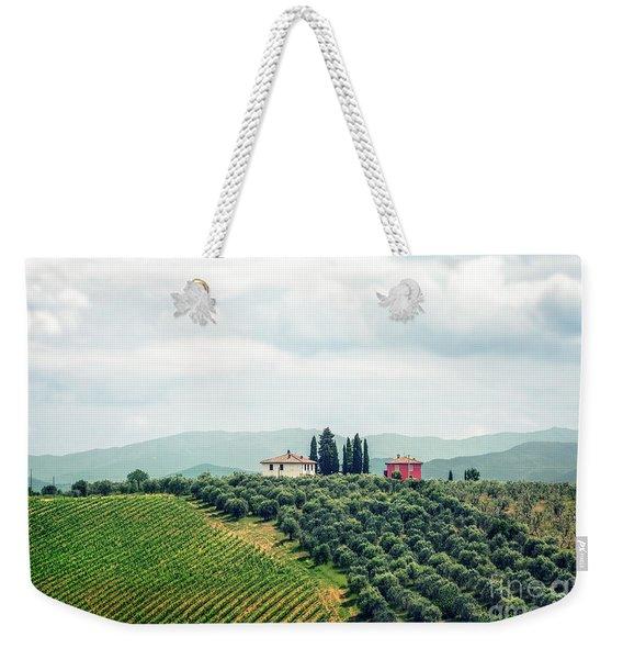 Fields Of Heavenly Delights Weekender Tote Bag