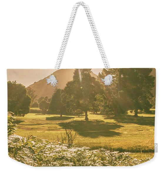 Fields Of Springtime Weekender Tote Bag