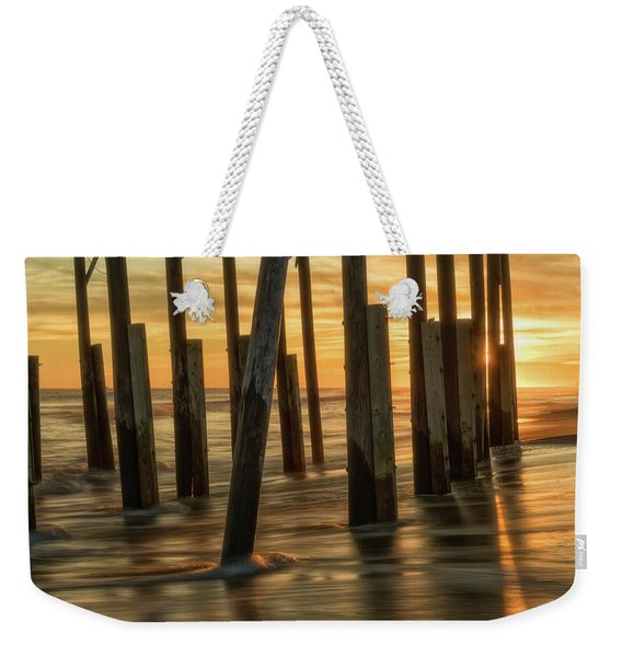 Fiery Kiss Weekender Tote Bag