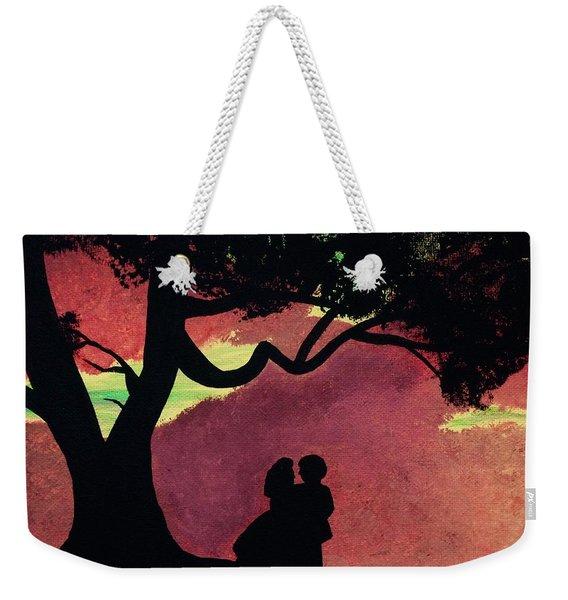 Fiery Skies Of Tara Weekender Tote Bag