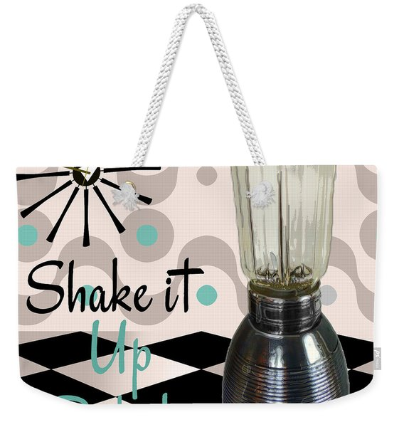 Fifties Kitchen Blender Weekender Tote Bag