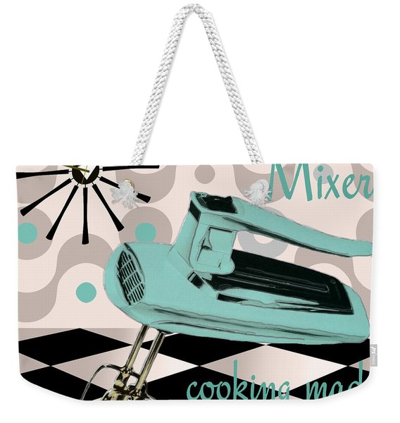 Fifties Kitchen Portable Mixer Weekender Tote Bag