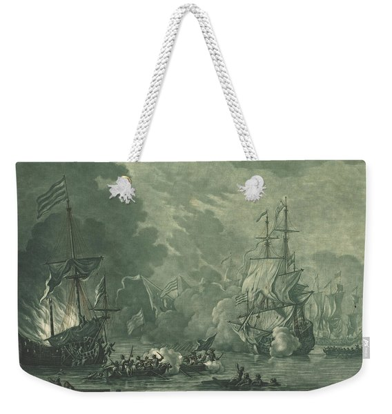 Fight Against Seven Algerines Weekender Tote Bag