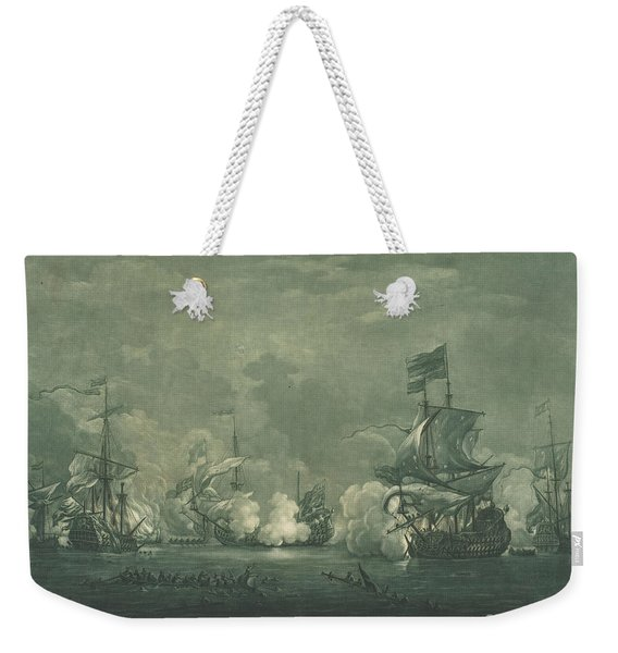 Fight In 1672 Weekender Tote Bag