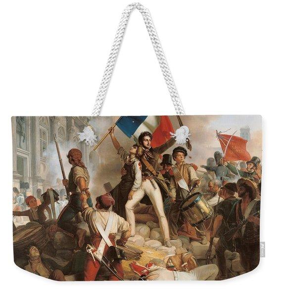 Fighting At The Hotel De Ville Weekender Tote Bag