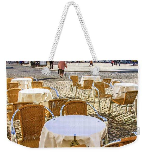 Figueira Square Lisbon Weekender Tote Bag