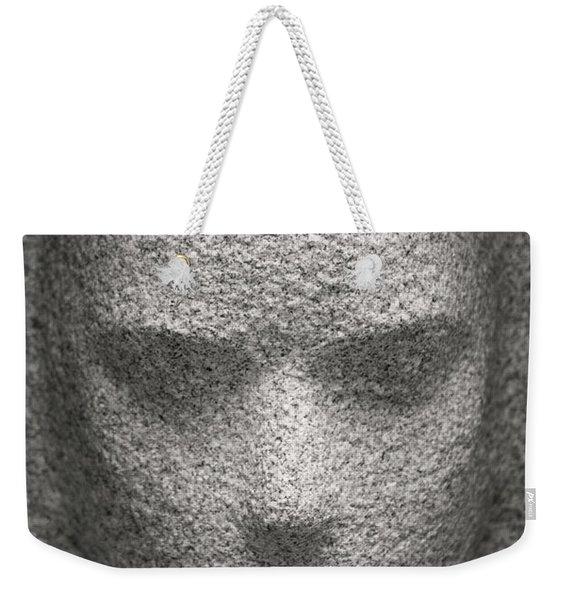 Figure In Stone Weekender Tote Bag