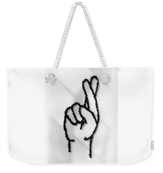 Figures Crossed Weekender Tote Bag