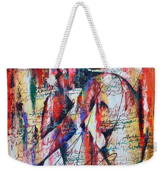 Figuring It Out Weekender Tote Bag