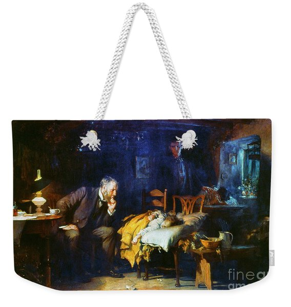 Fildes The Doctor 1891 Weekender Tote Bag