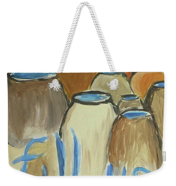 Fill Us Up Weekender Tote Bag